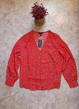 Блуза в горошек от new look