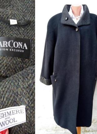 Стильное комфортное кашемир, шерстяное пальто oversize marcona 💣
