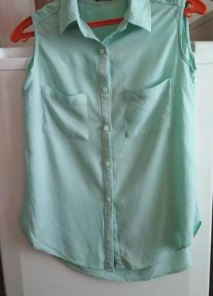 Вискозная блузочка р.40 xs