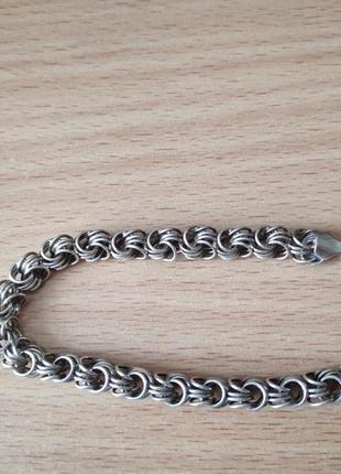 Срібло серебро браслет плетение роза обмін обмен