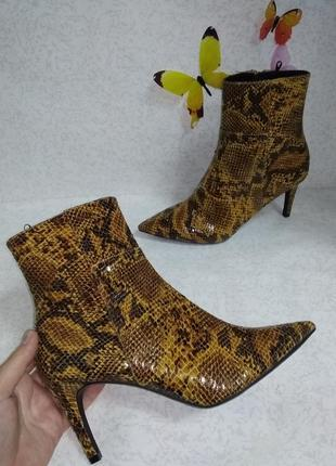 Демисезонные ботинки h&m (эйч энд эм) 39р.