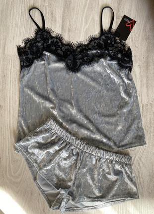 Распродажа ! бархатные пижамы /велюровые пижамы