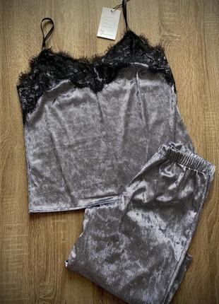 Распродажа! шикарные велюровые пижамки