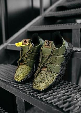 """👟 кроссовки мужские adidas """"olive/black""""  / наложенный платёж👟"""