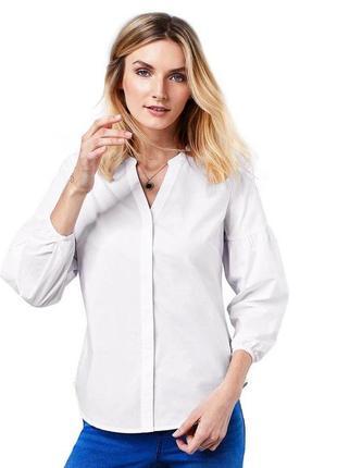 Стильная рубашка в строгом  стиле tcm tchibo германия
