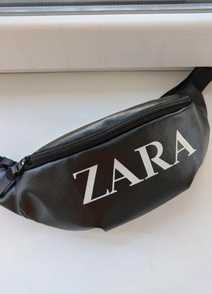 Новая женская бананка поясная сумка zara