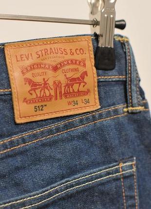 Джинси завужені levis levi's 512 - 34x34