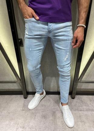 Мужские зауженные джинсы джинси (29-36)