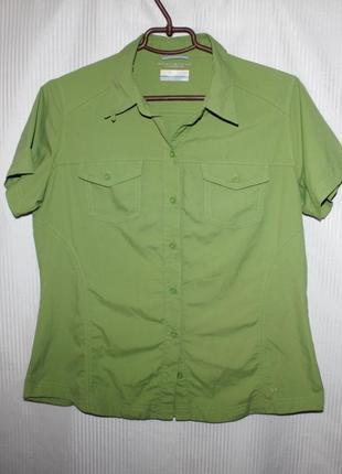 Женская рубашка тенниска columbia (коламбия) 46-50р