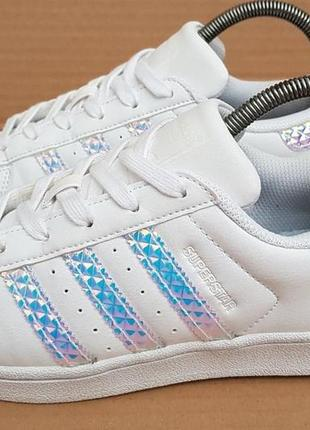 Кроссовки adidas superstar holographic white