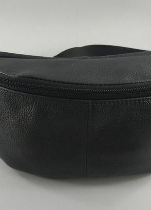 Кожаная сумка бананка поясная сумка