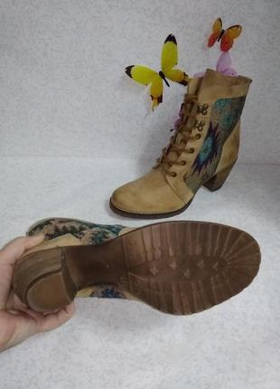 Кожаные ботинки spm (спм) 41р.