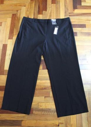 Новые черные брюки m&s размер 4xl