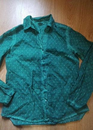Tom tailor рубашка блуза хлопок