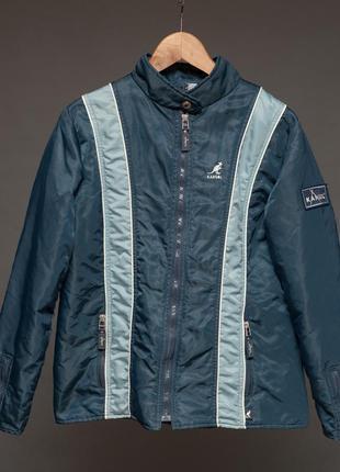 Kangol. куртка синяя женская спортивная демисезонная.