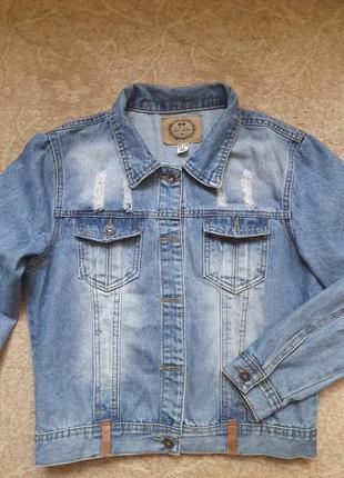 Куртка джинсовая ( джинсовка)