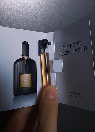 Духи парфюм аромат распив отливант black orchid от tom ford пробник 5мл