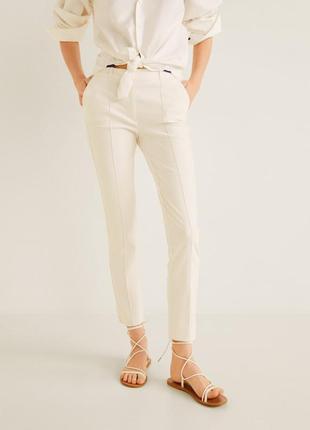 Идеальные льняные брюки