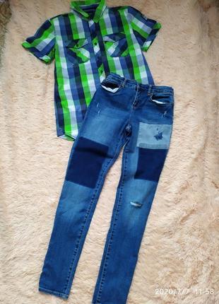 Рубашка(в наявності є також і джинси,вони продають окремо)