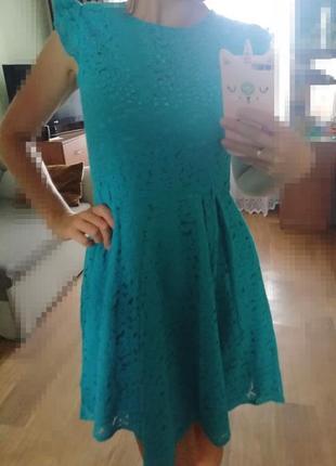 📢🔥распродажа! красивое платье из гипюра с пайетками, сукня, сарафан, плаття