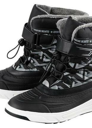 Зима 32р,34р- термо ботинки рepperts германия крутая модель, только по1паре