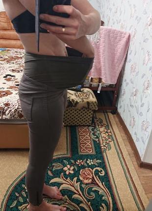 Штаны летние для беременных h&m 36 42-44 брюки