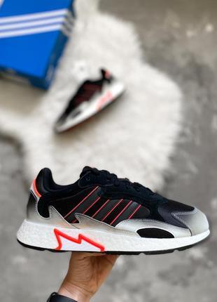 Оригинал! мужские кроссовки adidas tresc run boost кожаные кроссовки новые