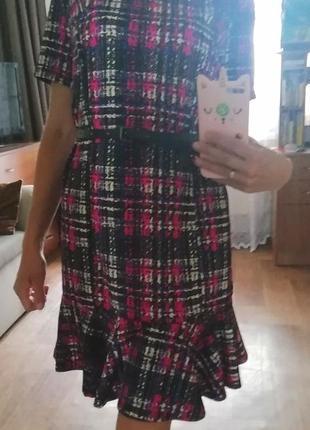 📢👍распродажа! яркий сарафан, плаття, платье, сукня, с рюшей