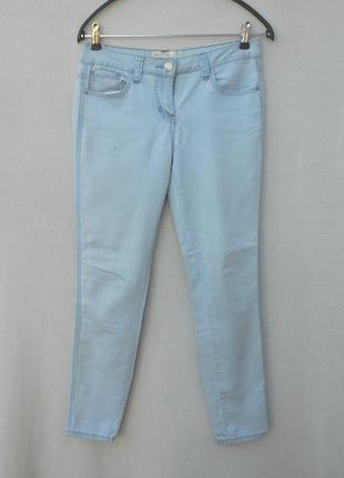 Летние джинсы скинни стрейчевые в обтяжку