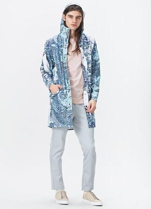 Классический удлиненный дождевик от rains - long jacket