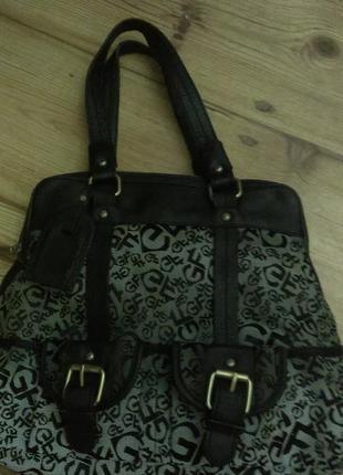 Gianfranco ferre сумка макси оригинал