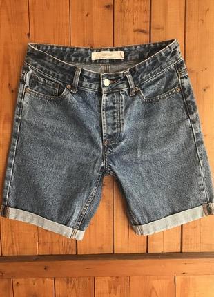Джинсовые шорты topman