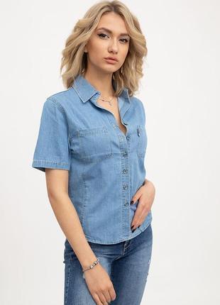 Джинсовая рубака для девушки