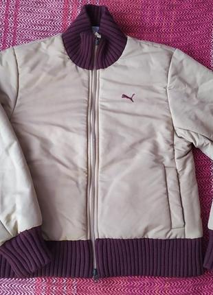 Куртка осенняя puma