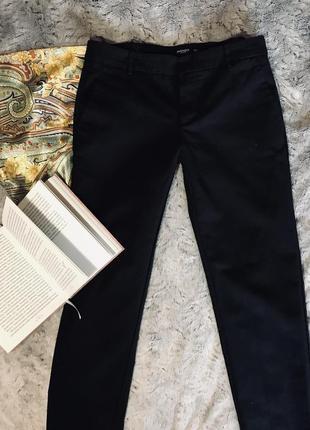 Чорні брюки від mango basics