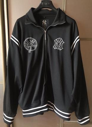 Спортивная куртка бомбер new york yankees