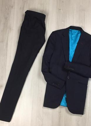 F9 n9 костюм dress2kill зауженный темно-синий