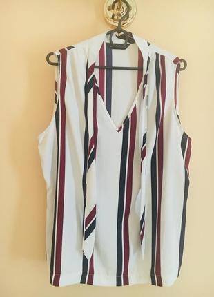 Батал большой размер шикарная легкая воздушная тонкая блуза блузка блузочка