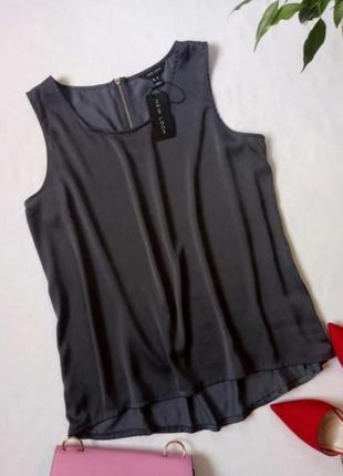 Атласная блуза майка кофточка