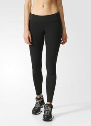 Спортивные лосины adidas черные m\l adidas оригинал леггинсы для спорта\фитнеса\зала