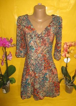 Очень красивое женское платье грудь 37-41 см dorothy perkins рр 10 100% вискоза
