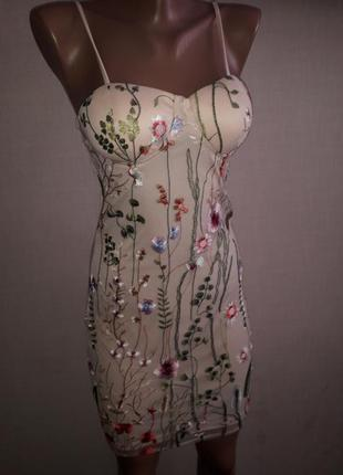 Нежное молодежное платье parisian collection