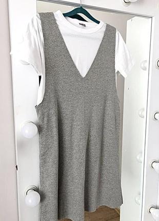 Повседневное платье с футболкой 2в1 asos