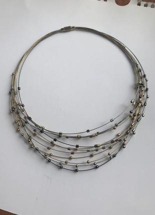 Трендовое колье ожерелье под любой образ