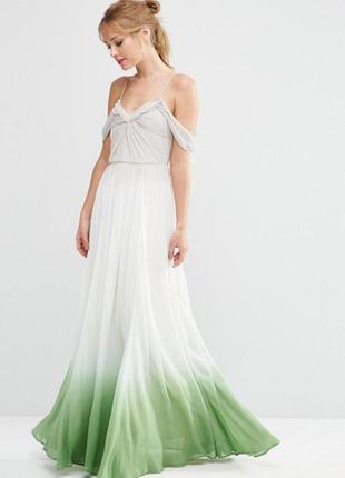 Длинное платье asos collection