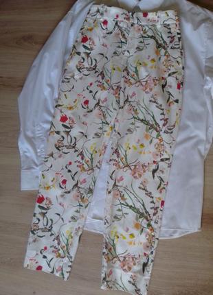 Коттоновые брюки чинос