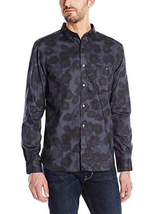 Нова сорочка рубашка french connection floral ls shirt - m
