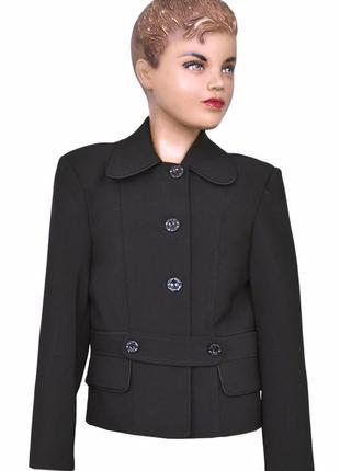 """Пиджак школьный для девочки м-789  рост 146 и  164 тм """"попелюшка"""""""