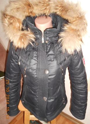 Зимняя курточка размер 34-36-38( хс -с-м )
