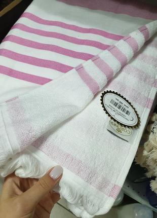 Пляжная подстилка полотенце 100% хлопок  180х70 см